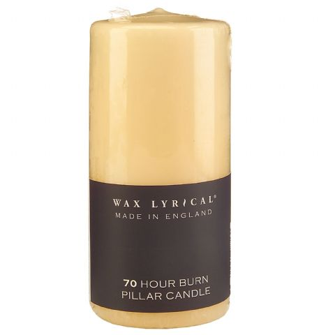70 Hour Pillar Unscented Church Candle Wax Lyrical - 7cm x 15cm